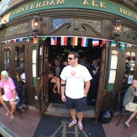 Photo taken at Amsterdam Ale House by Steve S. on 6/23/2012