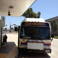Photo taken at Fullerton Park and Ride by Simon O. on 7/22/2012
