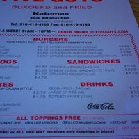 Photo taken at Five Guys by Barrett C. on 3/11/2012