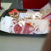 Photo taken at Burger King by Miguel G. on 4/25/2012