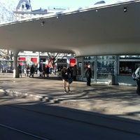 Photo taken at Bellevueplatz by Berry E. on 3/2/2012