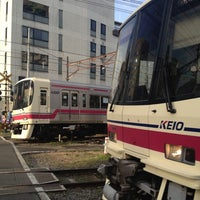 Photo taken at Chōfu Station (KO18) by Watalu Y. on 4/4/2012