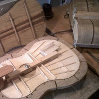 Photo taken at MAPOJA Music School - Luthier by Thomas B. on 4/14/2012