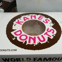 Photo taken at Kane's Donuts by Alyssa R. on 7/29/2012