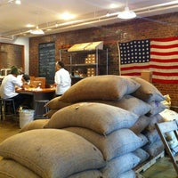 Photo taken at Mast Brothers Chocolate Factory by Mere N. on 6/10/2012