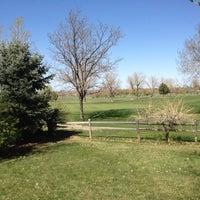 Photo taken at Aurora Hills Golf Course by Steve H. on 4/8/2012