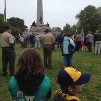 Photo taken at Oak Ridge Cemetery by Katherine S. on 4/29/2012