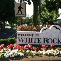 Photo taken at White Rock by Brad R. on 9/3/2012