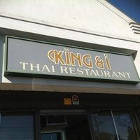 Photo taken at King & I Thai Restaurant by JWP on 4/17/2012