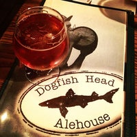 Photo taken at Dogfish Head Alehouse by Matt J. on 5/20/2012