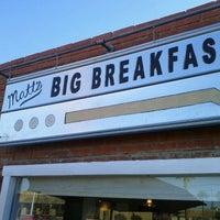 Photo taken at Matt's Big Breakfast by Rebecca on 2/10/2012