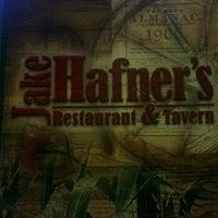 Photo taken at Jake Hafner's Restaurant & Tavern by Guy V. on 8/24/2012