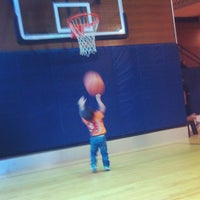 Photo taken at Bellevue Club Basketball Courts by Jason A. on 6/5/2012