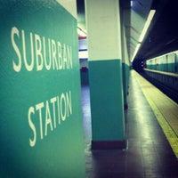 Photo taken at SEPTA Suburban Station by Brian B. on 8/2/2012