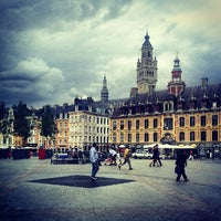 Photo taken at Grand'Place – Place du Général de Gaulle by Grisha on 8/13/2012