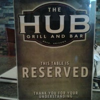 Photo taken at The Hub Grill And Bar by The Insurance Team on 2/5/2012