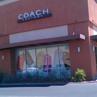 Photo taken at Coach Factory Store by Brittney G. on 7/26/2012