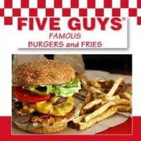 Photo taken at Five Guys by Doug B. on 2/18/2012