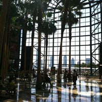Photo taken at Winter Garden Atrium by Brieuc-Yves (Mellouki) C. on 8/4/2012