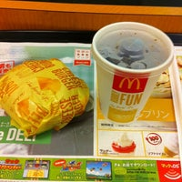 Photo taken at マクドナルド 鶴間マルシェ店 by Koichiro K. on 8/24/2012