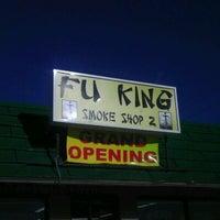 Photo taken at Fu King smoke shop by Hank Funk on 3/20/2012