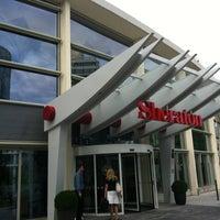 Photo taken at Sheraton Offenbach Hotel by Naoki H. on 7/17/2012