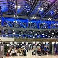 Photo taken at Suvarnabhumi Airport (BKK) by Wimalin R. on 6/10/2012