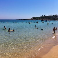 Photo taken at Fig Tree Bay by Stefanos P. on 8/26/2012
