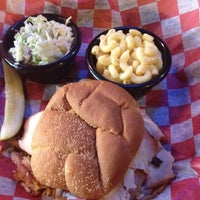 Photo taken at Hickory Road Barbecue by Micah C. on 7/19/2012