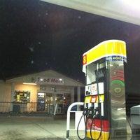 Photo taken at Shell by onezerohero on 5/30/2012
