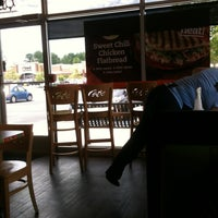 Photo taken at Tropical Smoothie Cafe by Peggy F. on 5/4/2012