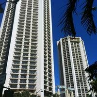 Photo taken at Hyatt Regency Waikiki Beach Resort and Spa by @MiwaOgletree on 8/17/2012