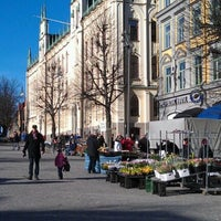 Photo taken at Stortorget by Anders G. on 2/25/2012