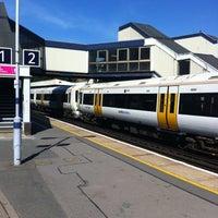 Photo taken at Sevenoaks Railway Station (SEV) by Stuart C. on 9/4/2012