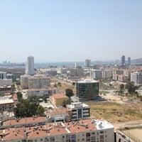 Photo taken at Bayrakli Tower Satis Ofisi by Ferhat E. on 8/11/2012