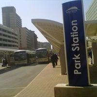 Photo taken at Gautrain Park Station by Rapailane R. on 8/24/2012