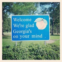 Photo taken at Georgia Visitors Center by Brittany B. on 8/26/2012