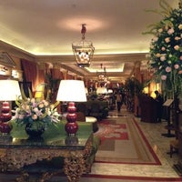 Photo taken at The Dorchester by Christabel C. on 5/17/2012