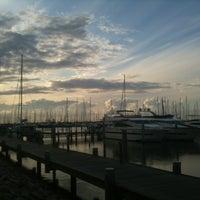 Photo taken at Yachthafen Hohe Düne by Julia H. on 7/16/2012
