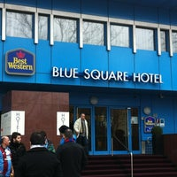 Photo taken at Best Western Plus Hotel Blue Square by Harm t. on 2/23/2012