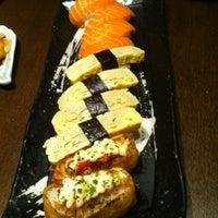 Photo taken at Sushi Zanmai (壽司三味) by Chew M. on 3/23/2012