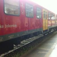 Photo taken at Železniška postaja Ljubljana / Train Station by Robert P. on 5/30/2012