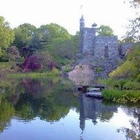 Photo taken at Central Park – Turtle Pond by Sarah H. on 5/1/2012