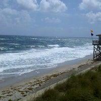 Photo taken at Lantana Beach by Christie P. on 2/27/2012