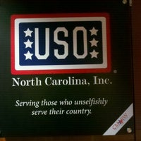 Photo taken at USO Lounge by John M. on 5/22/2012