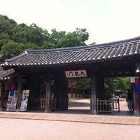 Photo taken at Korean Folk Village by kwon w. on 5/31/2012