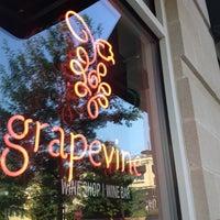 Photo taken at grapevine Wine Shop | Wine Bar by Jarrod C. on 5/26/2012