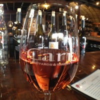 Photo taken at Carr Winery & Tasting Room by Jenna N. on 3/10/2012