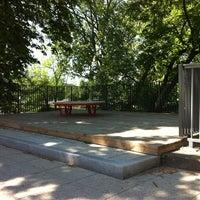 Photo taken at Donauterrasse am Poststeg by Jay F Kay on 5/26/2012