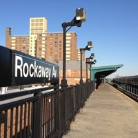 Photo taken at MTA Subway - Rockaway Ave (3) by Edna C. on 2/28/2012